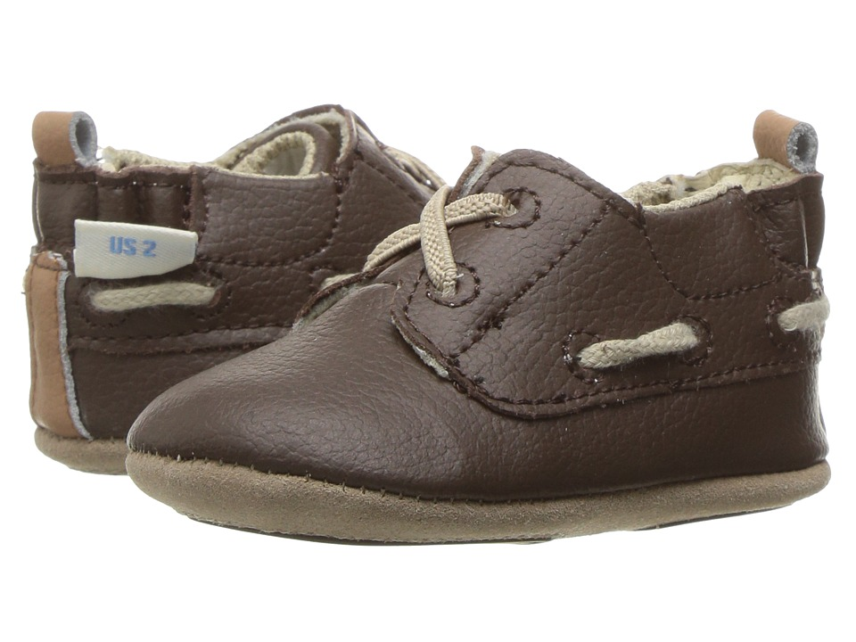 Robeez Jon Loafer Mini Shoez (Infant/Toddler) (Taupe) Boy's Shoes