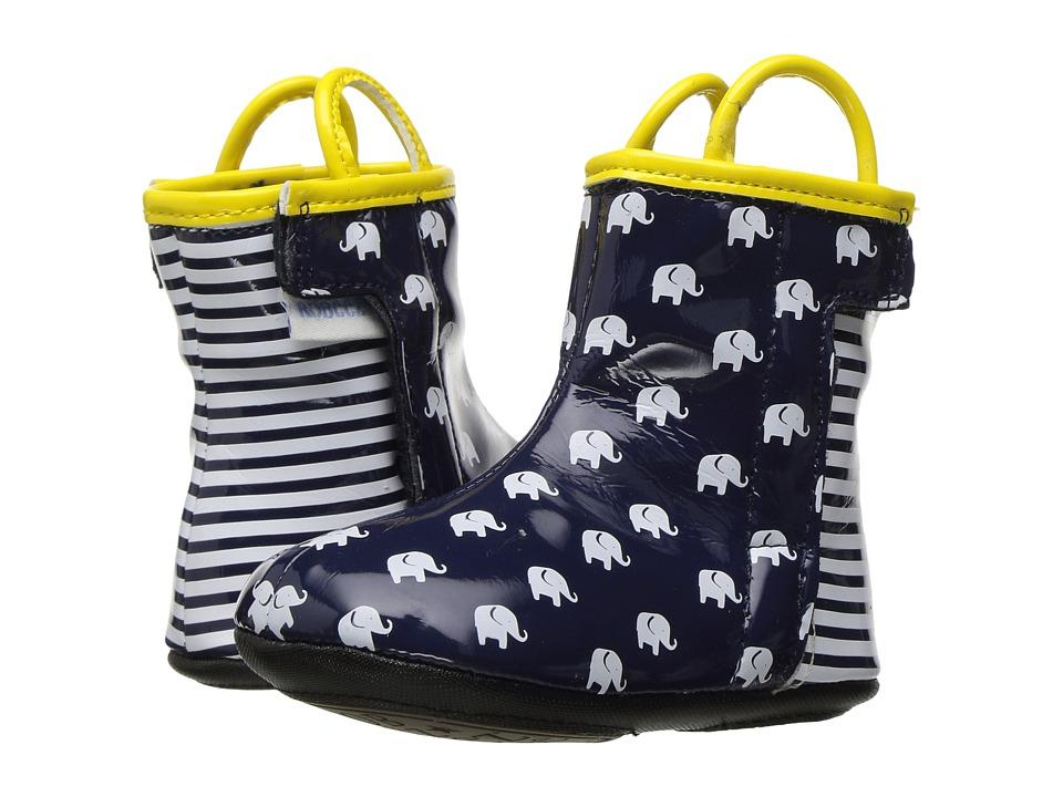 Robeez Sandor Rain Boot Mini Shoez (Infant/Toddler) (Navy) Boys Shoes