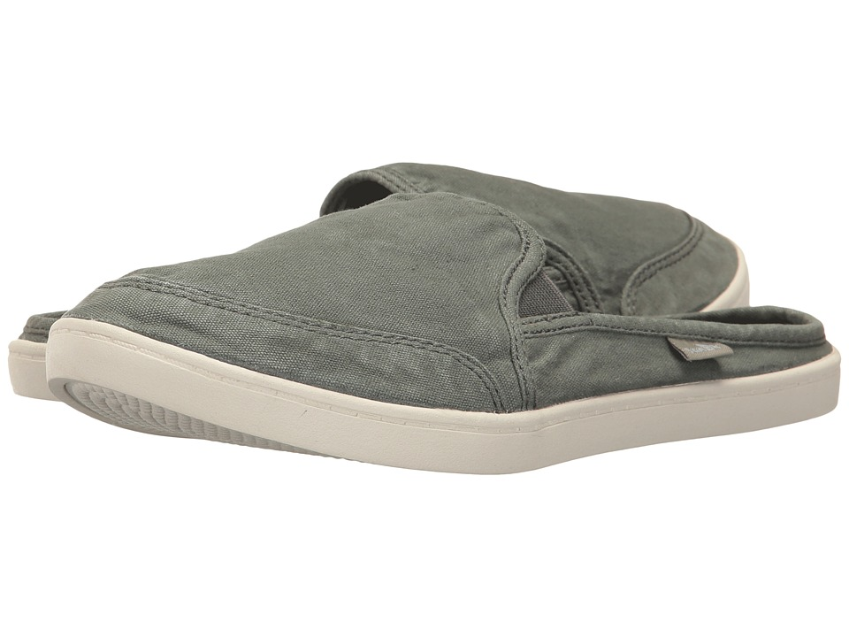 Sanuk Dree Me Cruiser (Washed Charcoal) Slip-On Shoes