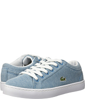 Lacoste Kids - Straightset Lace 217 2 (Little Kid)