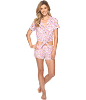 Lucky Brand - Notch Collar Short Pajama Set
