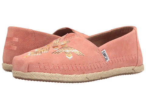 TOMS Premium Alpargata - Canyon Clay Tribal Embroidered
