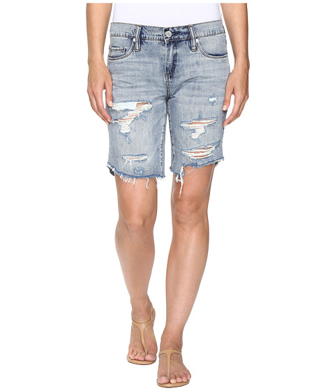 Blank NYC Longer Bermuda Shorts in Chills and Thrills - Chills and Thrills