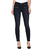 Paige - Jane Zip Ultra Skinny w/ Caballo Inseam in Dayton No Whiskers