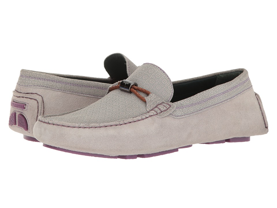 Ted Baker Carlsun 2 (Light Grey/Multi Suede) Men