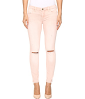 Blank NYC - Blush Pink Distressed Crop Skinny in Blink Pink