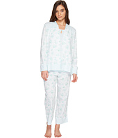 Carole Hochman - Three-Piece Cotton PJ Set