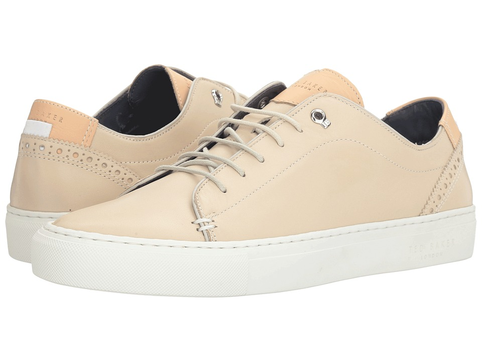 Ted Baker Kiing (Cream Leather) Men