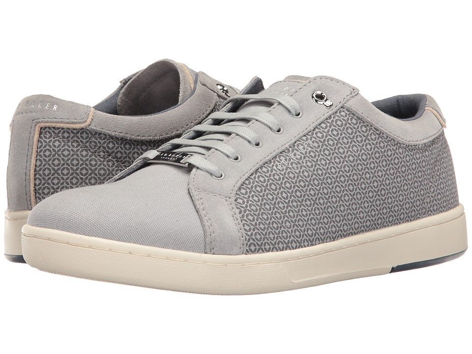 Ted Baker Ternur (Light Grey Textile) Men