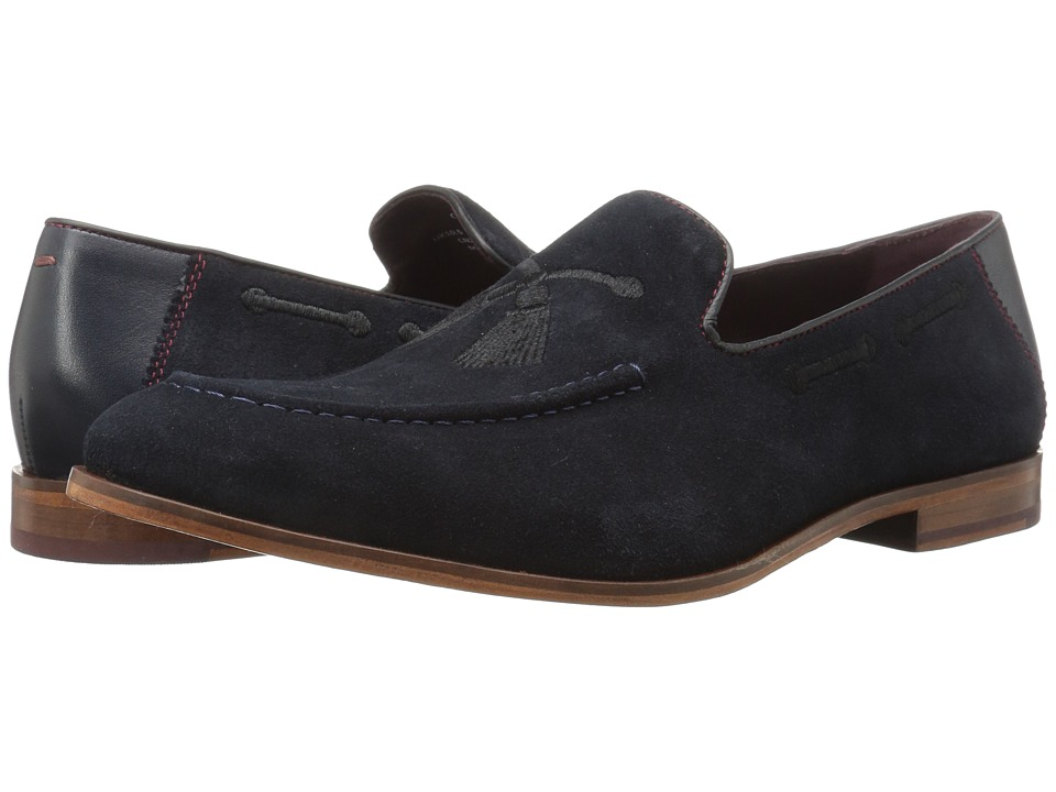 Ted Baker Cannan (Dark Blue Suede) Men