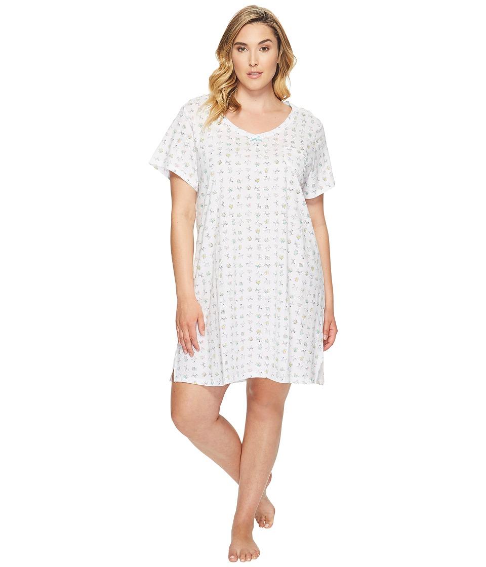 Carole Hochman - Plus Size Knit Sleepshirt