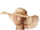 LAUREN Ralph Lauren Frayed Sun Hat w/ Tassels