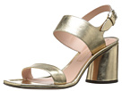 Marc Jacobs - Emilie Strap Sandal (Gold Leather)