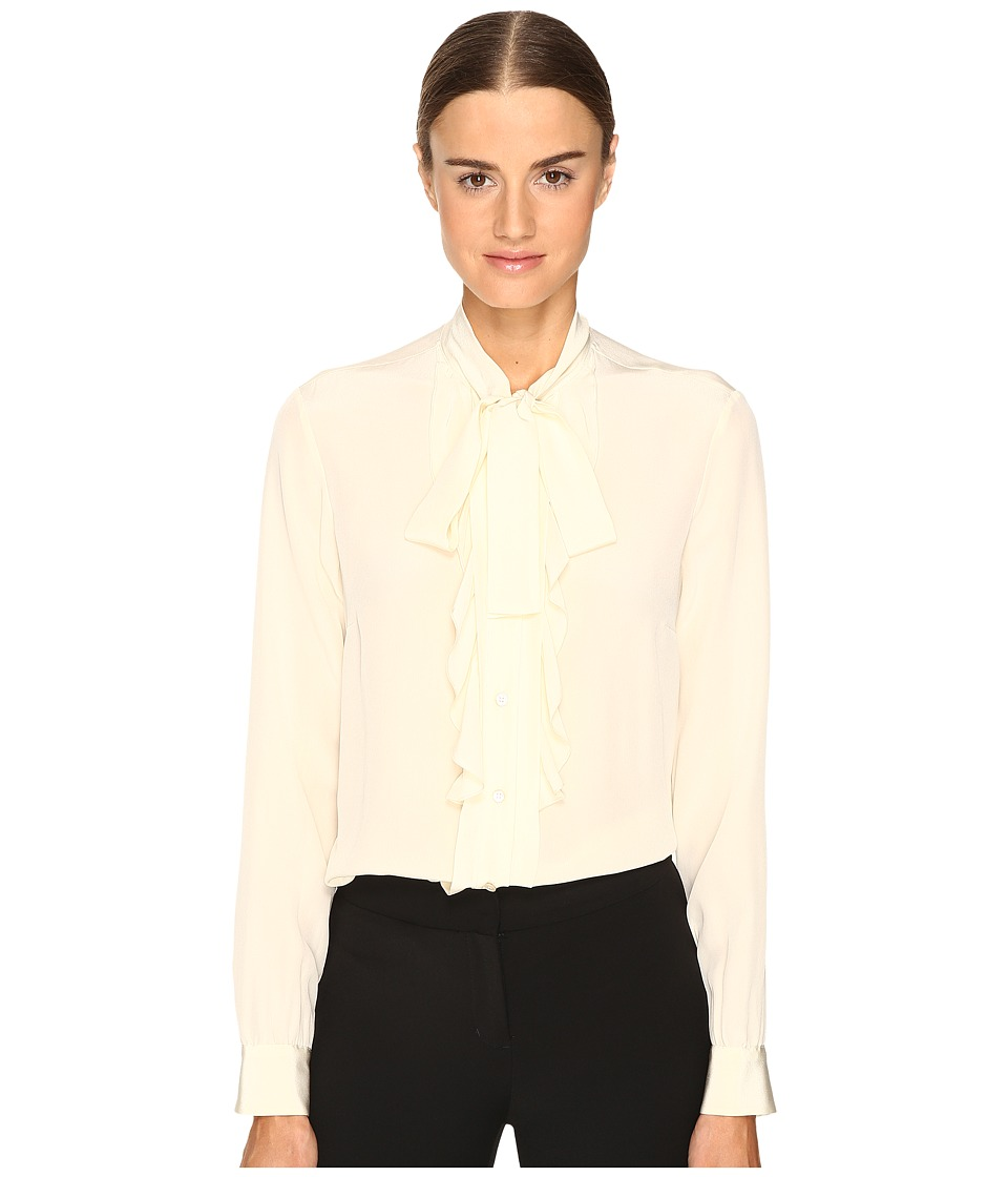 RED VALENTINO - Silk Crepe De Chine Blouse