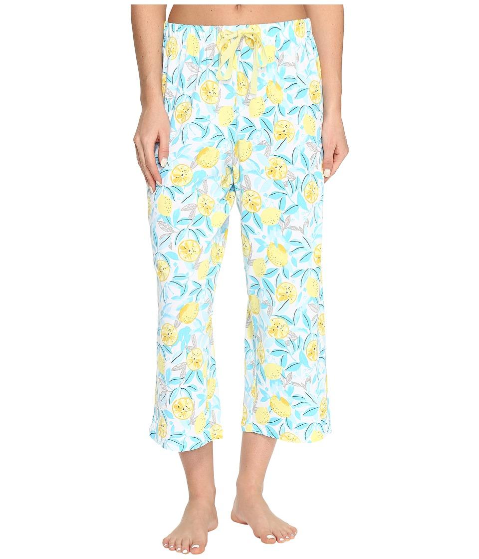 Jockey Printed Capri Pants (Lemon Orchard) Women