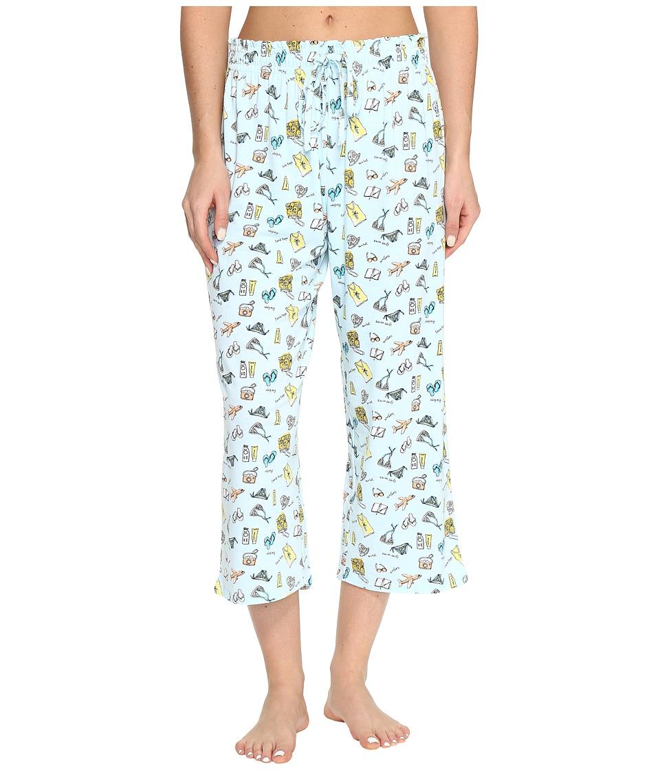Jockey Printed Capri Pants (Vacation List) Women