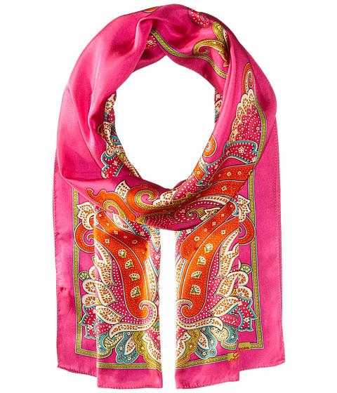 LAUREN Ralph Lauren Malia Silk Twill Scarf - Exotic Pink