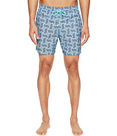 Vilebrequin - Mahina Sashimi Check Fishes Packable Swim Trunk