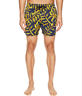 Vilebrequin - Moorise Superflex Gold Palms Swim Trunk