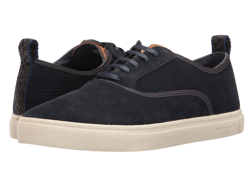 Ted Baker Odonel (Dark Blue Suede) Men