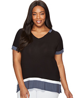 DKNY - Plus Size Short Sleeve Lounge Tee