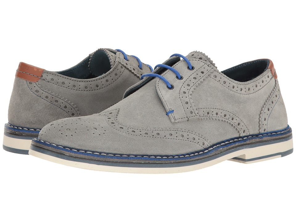 Ted Baker Reith 2 (Light Grey Suede) Men