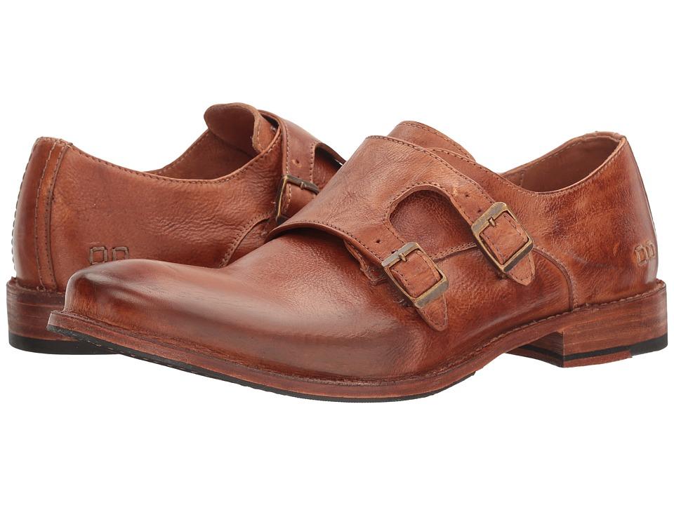 Bedstu Brando (Cognac Dip-Dye Leather/Suede) Men's Shoes