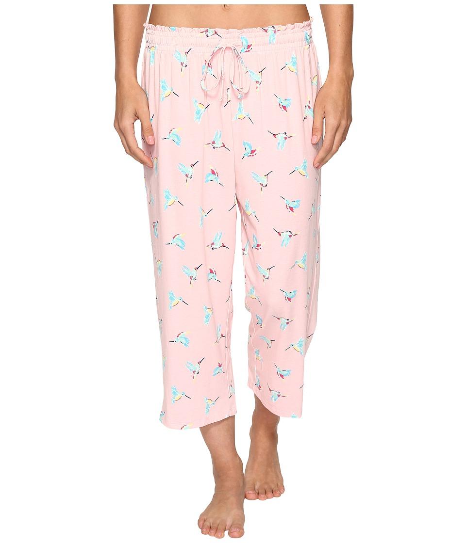 Jockey Printed Capri Pants (Hummingbirds) Women