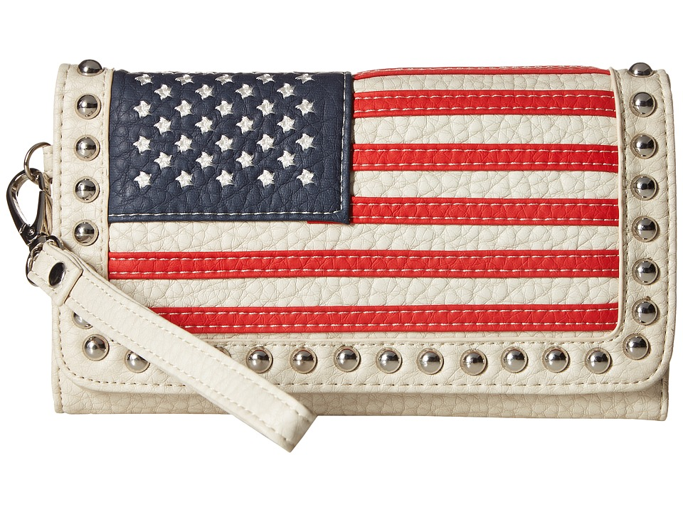 M&F Western - Americana Clutch (Multi) Clutch Handbags