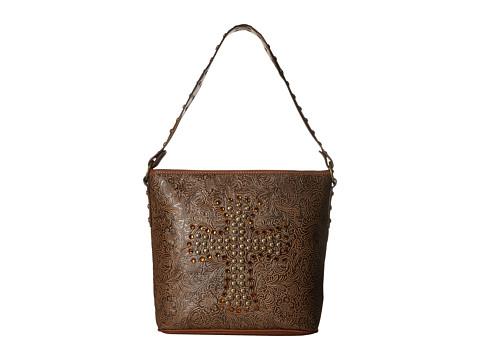 M&F Western Nina Shoulder Bag - Tan