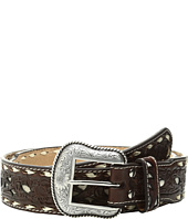 M&F Western - Ivory Lace Stitched Belt