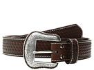M&F Western Basketweave Overlay Belt