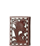 M&F Western - Ivory Laced Trifold Wallet