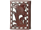 M&F Western Ivory Laced Trifold Wallet