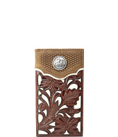M&F Western - Floral Overlay Rodeo Wallet