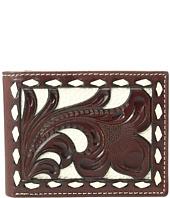 M&F Western - Ivory Laced Bifold Wallet