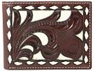 M&F Western Ivory Laced Bifold Wallet