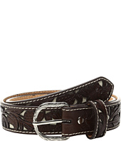 M&F Western - Floral Ivory Cut Out Belt (Little Kids/Big Kids)