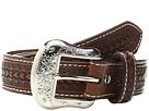 M&F Western Rawhide Lacing Silver Concho Belt (Little Kids/Big Kids)
