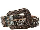 M&F Western Croco Copper Nailhead Belt