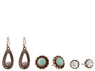 M&F Western Blazin Roxx 3-Pair Earrings Set