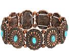 M&F Western M&F Western Western Concho Turquoise Bracelet