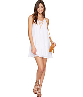 Show Me Your Mumu - Rancho Mirage Lace-Up Tunic