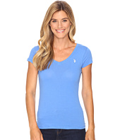 U.S. POLO ASSN. - Solid V-Neck Tee