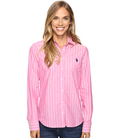 U.S. POLO ASSN. - Pencil Stripe Long Sleeve Woven Shirt