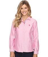 U.S. POLO ASSN. - Long Sleeve Solid Oxford Shirt