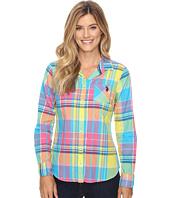 U.S. POLO ASSN. - Long Sleeve Woven Plaid Shirt