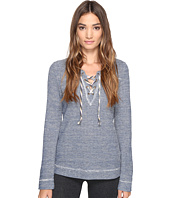 Lucky Brand - Lace-Up Pullover Top