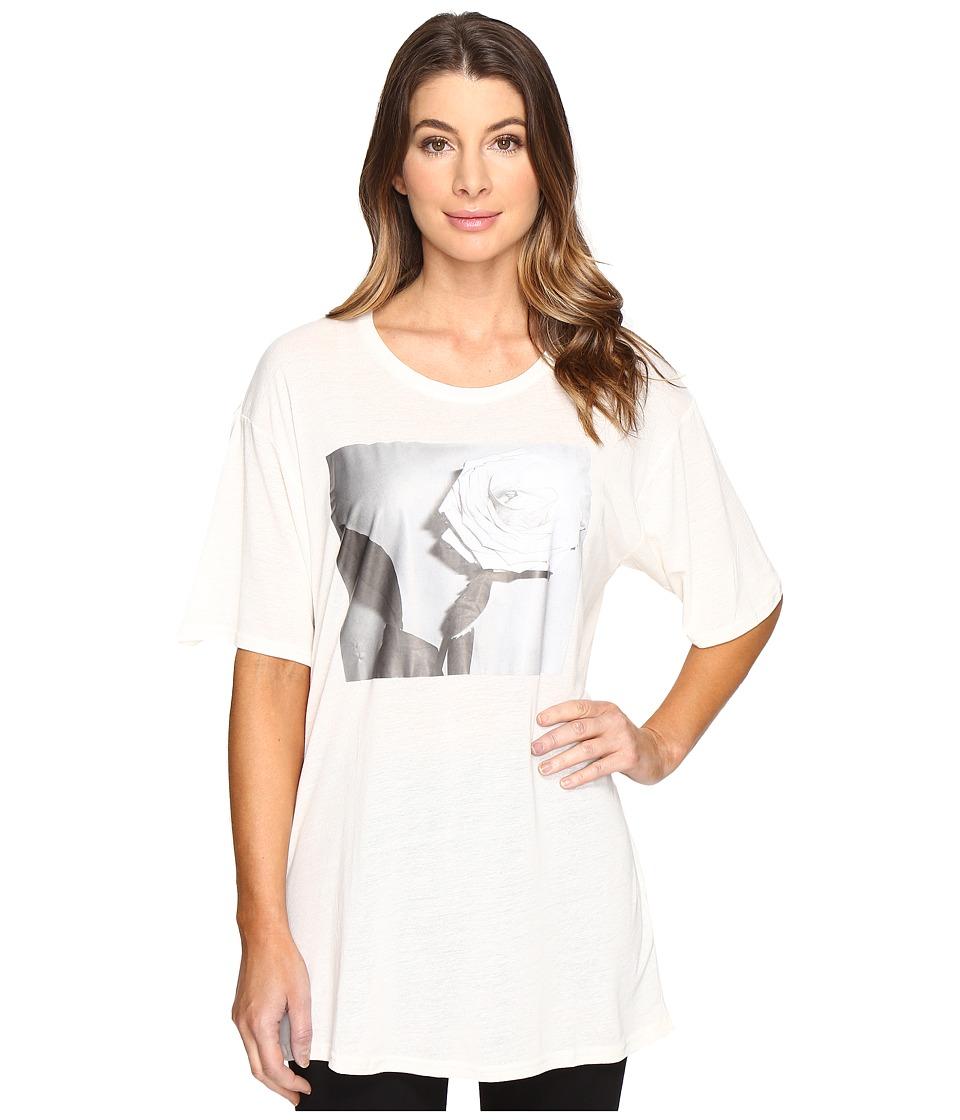 Diesel T-Rachel-P T-Shirt (Ivory) Women