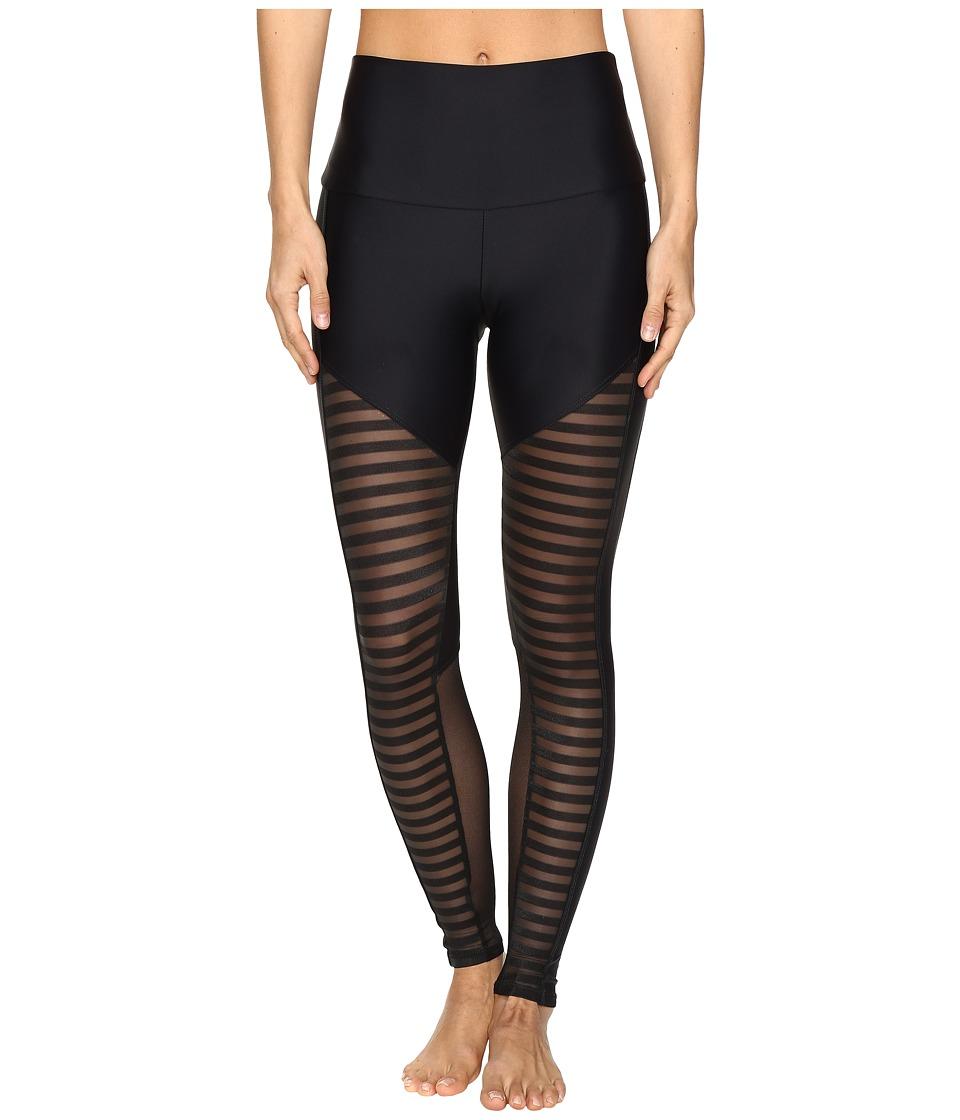 Steampunk Women's Pants & Bloomers Onzie - Fierce Leggings Stripe Combo Womens Casual Pants $74.00 AT vintagedancer.com
